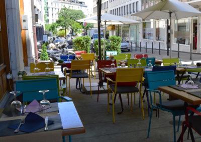 Restaurant terrasse terrassiere geneve