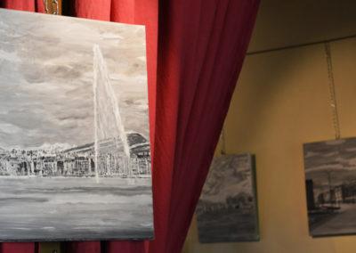 expositions tableaux restaurant original geneve